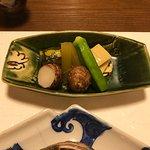 コース料理の3品目(野菜中心)