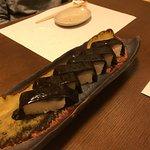 コース料理の8品目(鯖寿司)