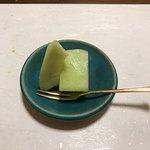 コース料理の10品目(デザート)