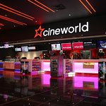7 screen Cineworld