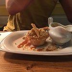 Apple & Caramac Higgledy Piggledy Crumble Pie