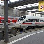 Trains at Munich Hauptbahnhof