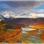 The Rapa Valley in Sarek National Park, Sweden