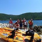 sea kayak trip Lefkas-Meganisi-Thilia with Periplous Experience