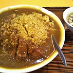 台湾料理 生駒 排骨カレーチャーハン