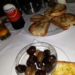 Olives and Wonderful Toasted Bread ...