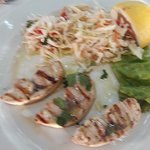 Sword Fish Steaks with Slaw ...