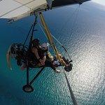 Volo in deltaplano sulla splendida Costa di Badolato....Mare dai Mille colori