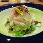 Crab with Green Pea