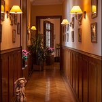 Couloir des chambres d'hôtes du Château de La Rivière