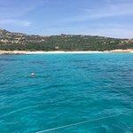 fantastico bagno a Cala Soraya. Wonderful swim at Cala Soraya