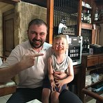 Chef Paul and a very happy guest!