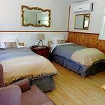 Chambre 2 lits simples vue sur le lac