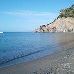 il mare all'improvviso. Affascinante! alle 7,15 ero già lì