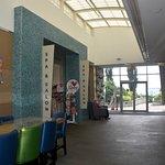 Spa and Restaurant Entrances
