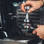 Don't lose your 'tamper'..the pressure used to tamp our coffee is one of the keys to tasty caffe