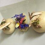 Bao aux champignons fumés