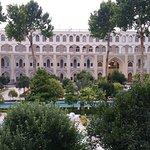 the courtyard garden of the Abbasi