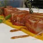 filetto di patanegra in crosta di bacon
