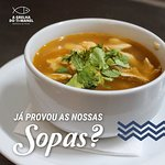 Vai uma sopinha? 🥣 O nosso chef tem mão para as sopas! 👨🍳
