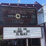 Old 300 BBQ Sign
