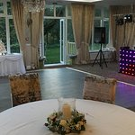 Oak room for wedding evening function