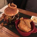 A very yummy burger