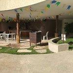 Área das oficinas de recreação