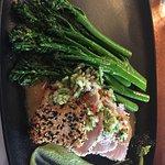 My seared tuna albacore.