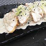Pechuga de pollo con salsa de setas del restaurante Monty's en Madrid