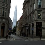 Ben showed us a perfect view on the shard.