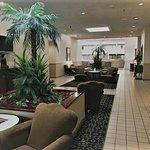 Hotel Lobby looking toward Dining Area