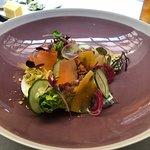 salad with egg
