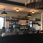 Inside bar area