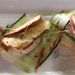 Marlin pate appetizer