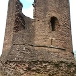 Central castle tower