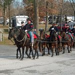 Horse Stabling facilities with direct access to the National Park bridle trails at Artillery Rid