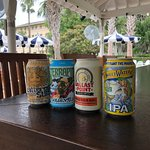 Plenty of craft beer options available.