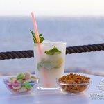 Mojitos deliciosos con vistas al mar