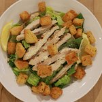 One of our fresh Cesar salads with house made croutons
