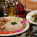 chicken shawarma plat