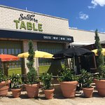 Outdoor tables at Southern Table