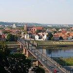 Panoramic view of Kaunas