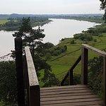 Rambynas hillfort at the border with Kaliningrad