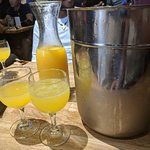 Yep, mimosas