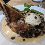 Cookie Dough stuffed French Toast