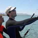 corsi di aquilone in kitesurfing club Pollensa lezioni di aquilone mallorca nel mese di giugno c