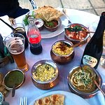 Indian Zest, Sunbury, various rice dishes