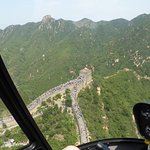 Great Wall from above
