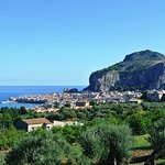 We stopped for a photo shoot on our drive into Cefalu.